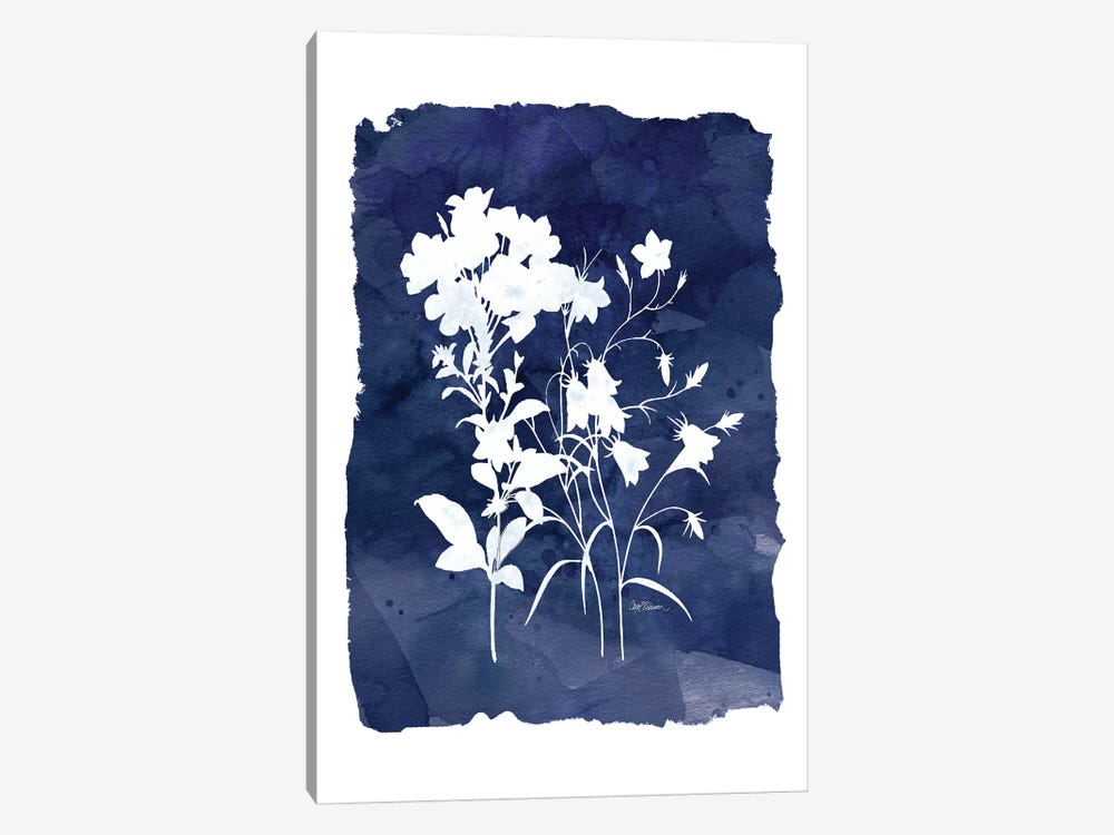 Indigo Botanical II by Carol Robinson 1-piece Canvas Art