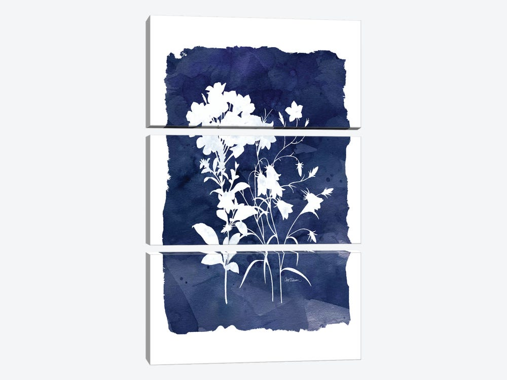 Indigo Botanical II by Carol Robinson 3-piece Canvas Art