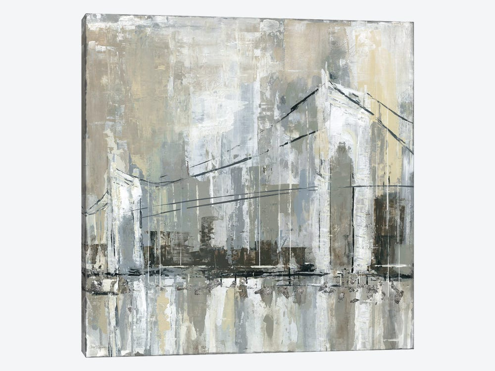 Midtown Bridge I 1-piece Canvas Art Print