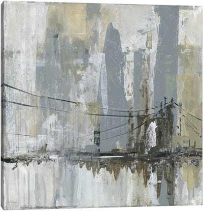 Midtown Bridge II Canvas Art Print