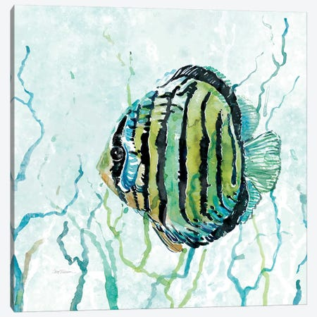 Outer Banks Swim Canvas Print #CRO164} by Carol Robinson Art Print