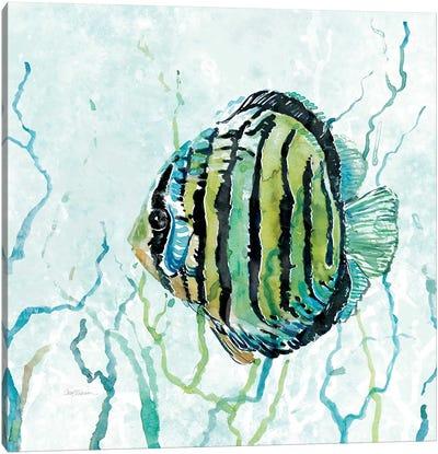Outer Banks Swim Canvas Art Print