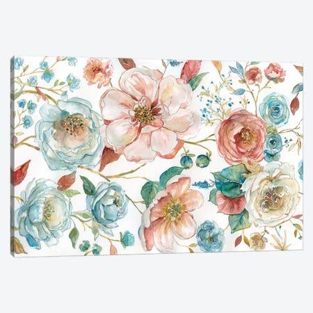 Rose Garden Canvas Print #CRO174} by Carol Robinson Canvas Wall Art