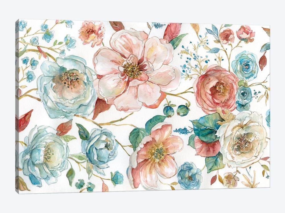 Rose Garden by Carol Robinson 1-piece Canvas Art Print