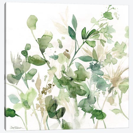 Sage Garden I Canvas Print #CRO177} by Carol Robinson Canvas Wall Art
