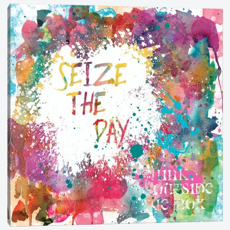Seize the Day Canvas Print #CRO184} by Carol Robinson Art Print