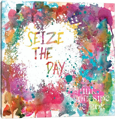 Seize the Day Canvas Art Print