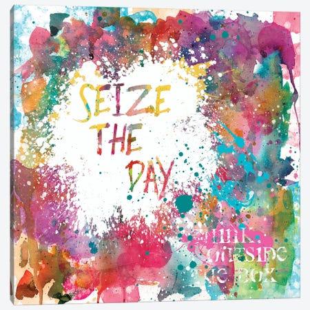 Seize the Day Canvas Print #CRO184} by Carol Robinson Art Print