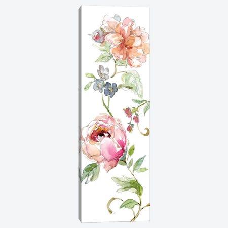 Trailing Blooms I Canvas Print #CRO190} by Carol Robinson Canvas Art Print