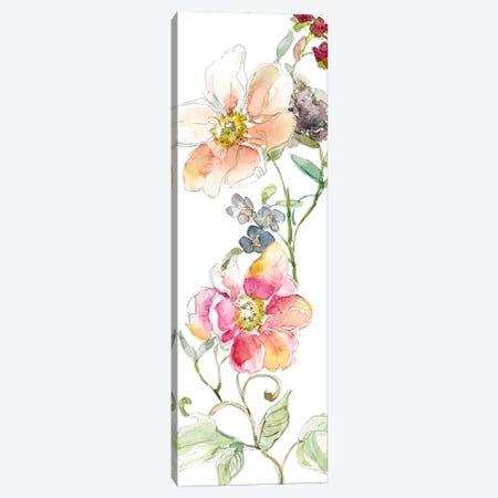 Trailing Blooms II Canvas Print #CRO191} by Carol Robinson Art Print
