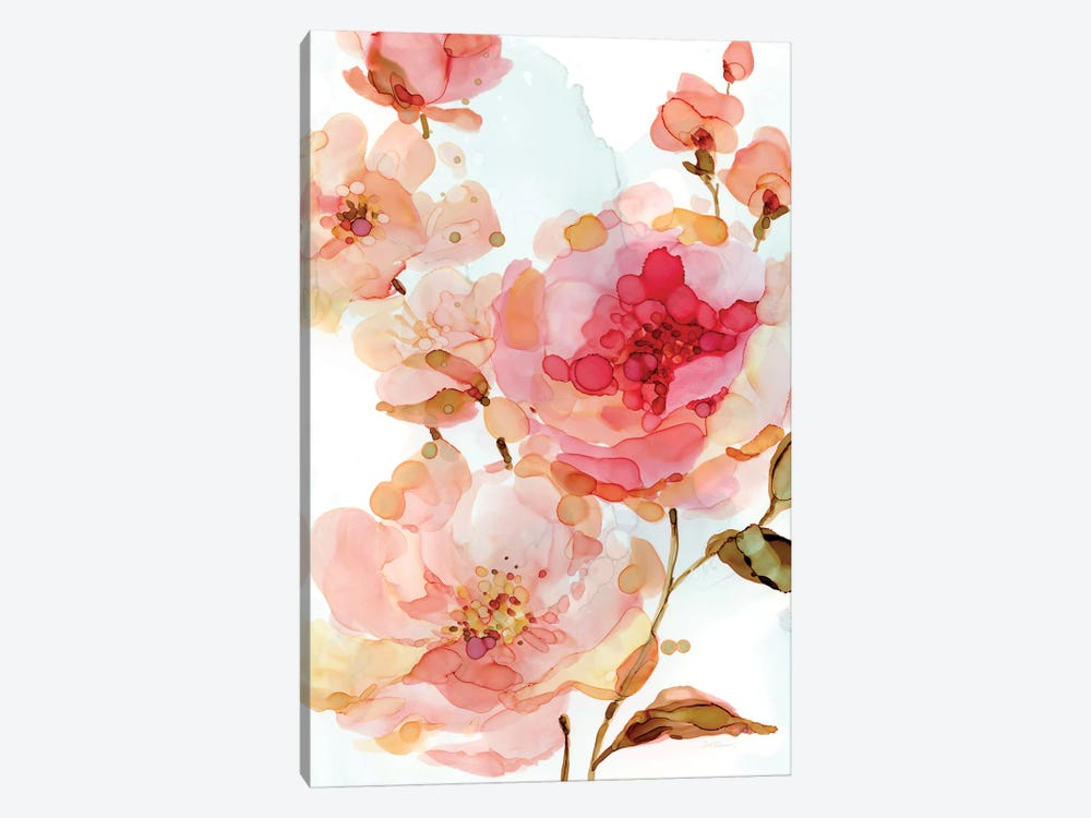 Vivid Roses 1-piece Canvas Art Print