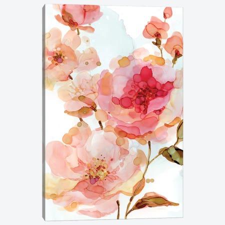 Vivid Roses Canvas Print #CRO194} by Carol Robinson Canvas Artwork