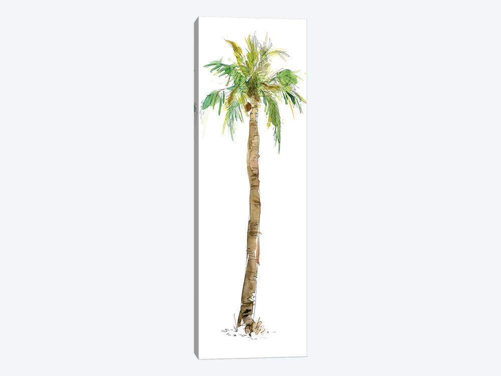 Washed Palm I 1-piece Canvas Artwork