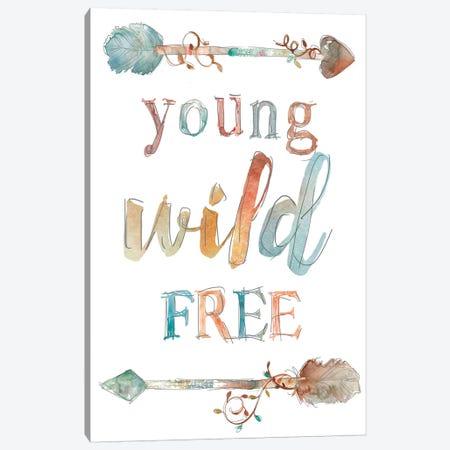 Young Wild Free Canvas Print #CRO197} by Carol Robinson Canvas Art