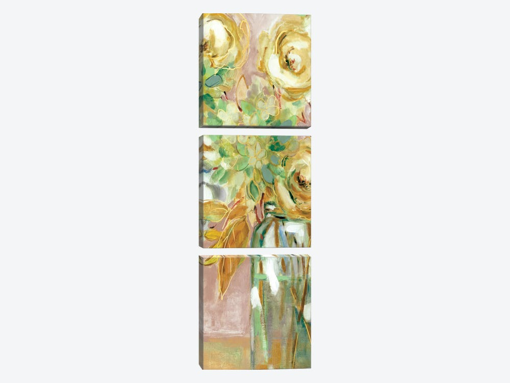 Autumn Arrangement II by Carol Robinson 3-piece Canvas Art