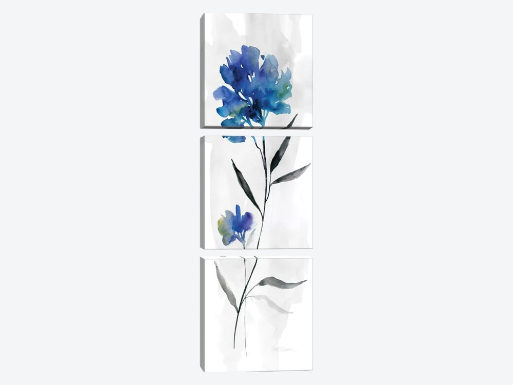 Beautiful Blue II by Carol Robinson 3-piece Canvas Wall Art