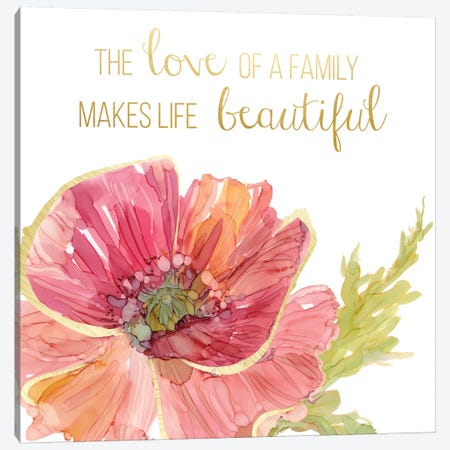 Beautiful Love Canvas Print #CRO203} by Carol Robinson Canvas Art Print