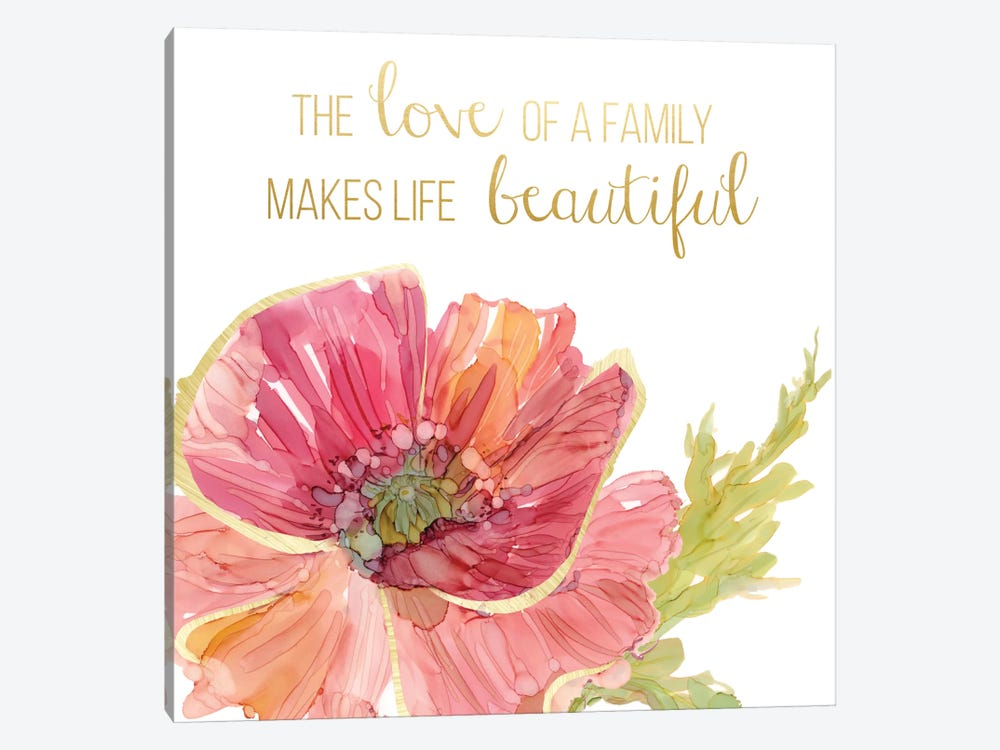 Beautiful Love by Carol Robinson 1-piece Canvas Print