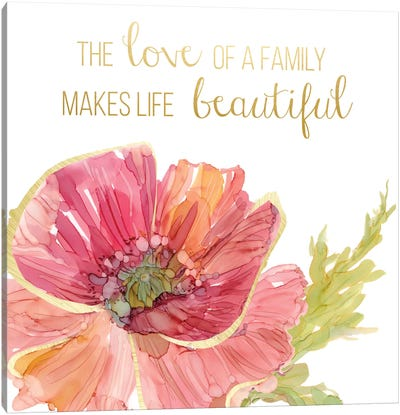 Beautiful Love Canvas Art Print