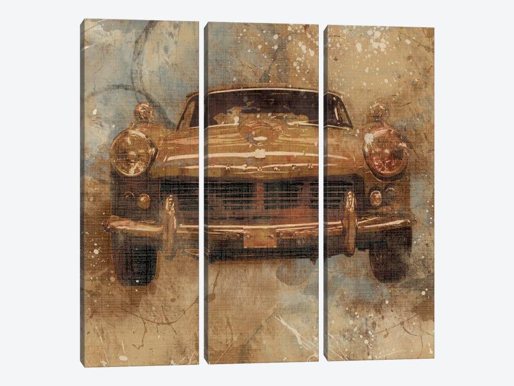 Live To Ride I by Carol Robinson 3-piece Canvas Art Print