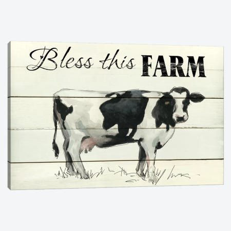 Bless This Farm II Canvas Print #CRO212} by Carol Robinson Canvas Art