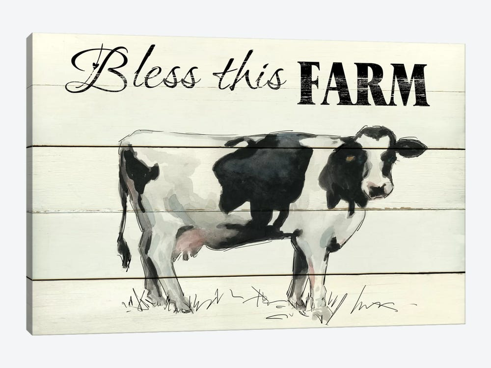 Bless This Farm II by Carol Robinson 1-piece Canvas Print