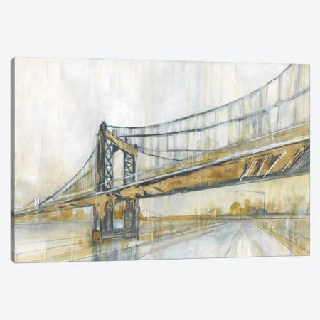 Brooklyn Rain Canvas Print #CRO215} by Carol Robinson Art Print