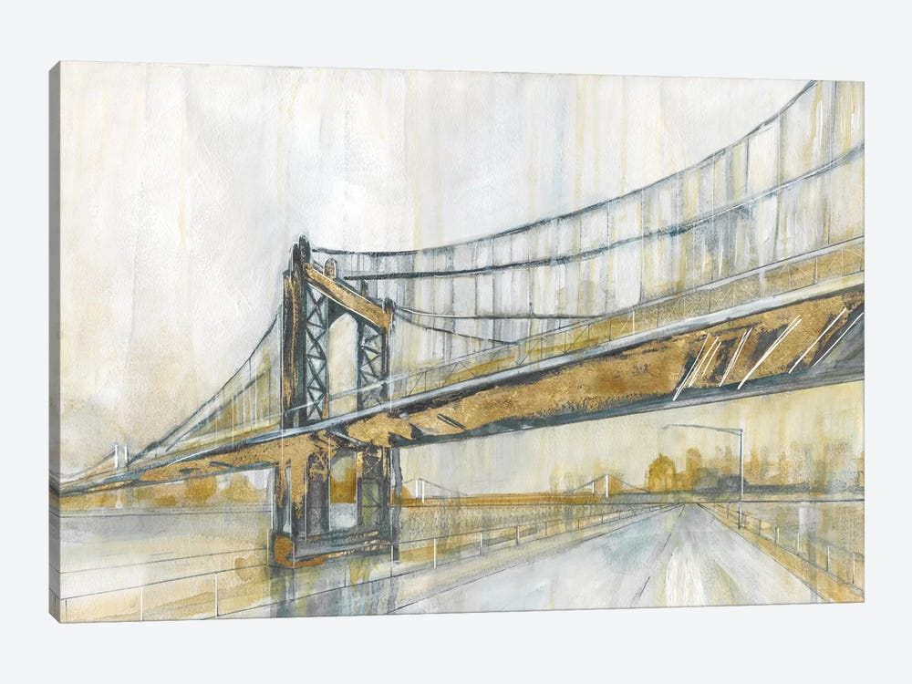 Brooklyn Rain by Carol Robinson 1-piece Canvas Art