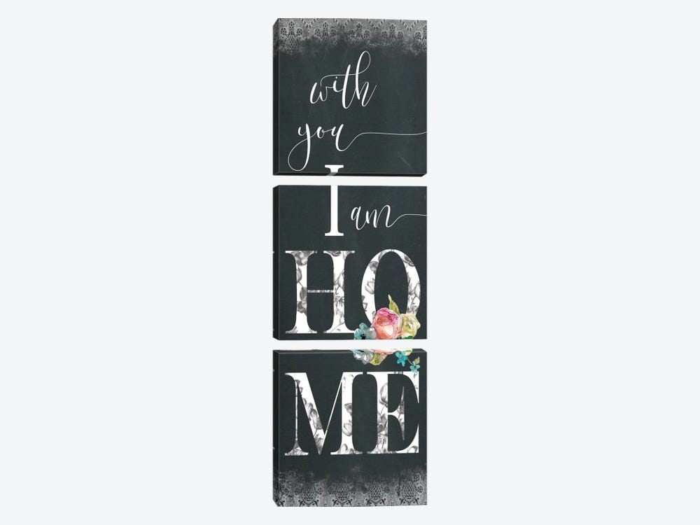 Chalky Home 3-piece Art Print