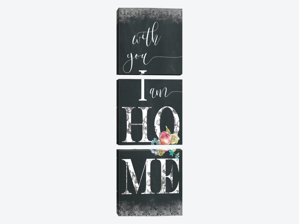 Chalky Home by Carol Robinson 3-piece Art Print
