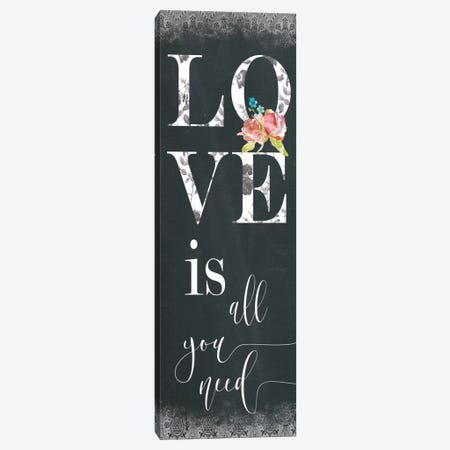 Chalky Love Canvas Print #CRO219} by Carol Robinson Canvas Wall Art
