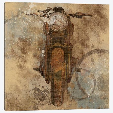 Live To Ride II Canvas Print #CRO21} by Carol Robinson Canvas Art