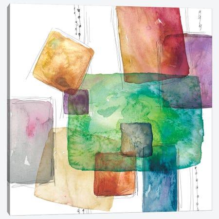 Color Blocks Canvas Print #CRO223} by Carol Robinson Canvas Print