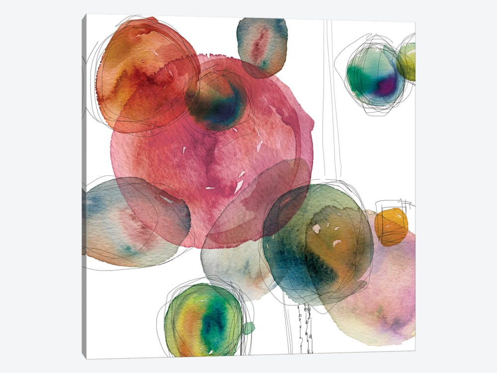 Color Drops by Carol Robinson 1-piece Canvas Art