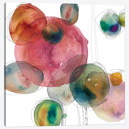Color Drops Canvas Print #CRO224} by Carol Robinson Canvas Wall Art