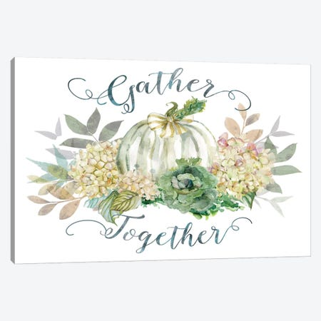 End Of Summer: Gather I Canvas Print #CRO233} by Carol Robinson Canvas Art