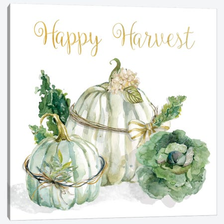 End Of Summer: Harvest Canvas Print #CRO235} by Carol Robinson Canvas Print