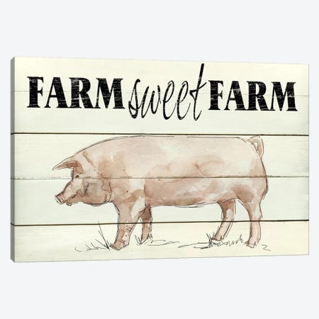 Farm Sweet Farm Canvas Print #CRO245} by Carol Robinson Canvas Art