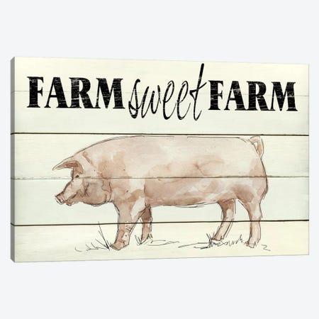 Farm Sweet Farm Canvas Print #CRO245} by Carol Robinson Canvas Art