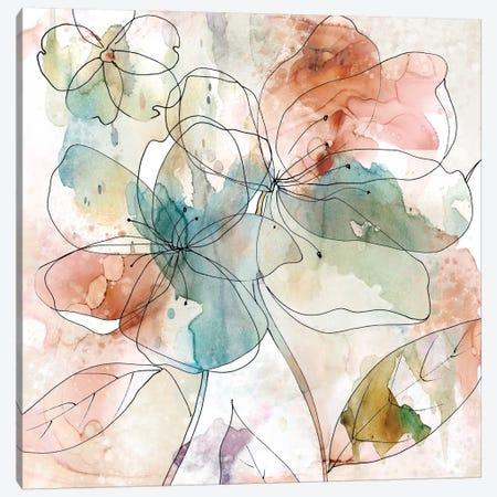 Floral Flow II Canvas Print #CRO249} by Carol Robinson Canvas Print