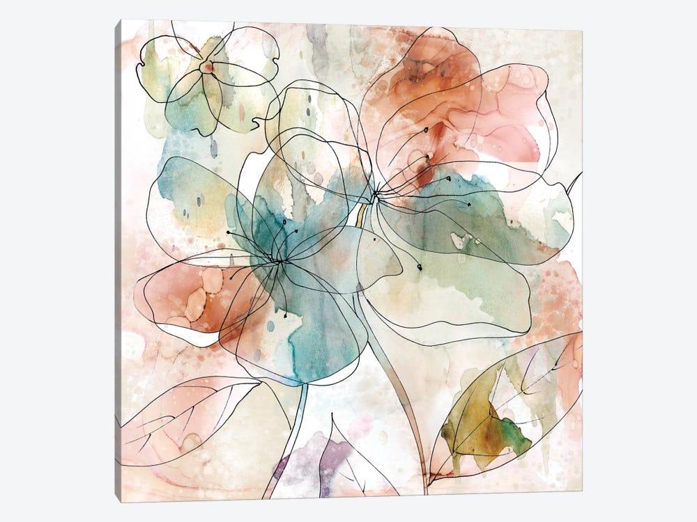 Floral Flow II by Carol Robinson 1-piece Art Print