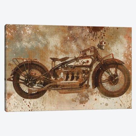 Live To Ride V Canvas Print #CRO24} by Carol Robinson Canvas Print