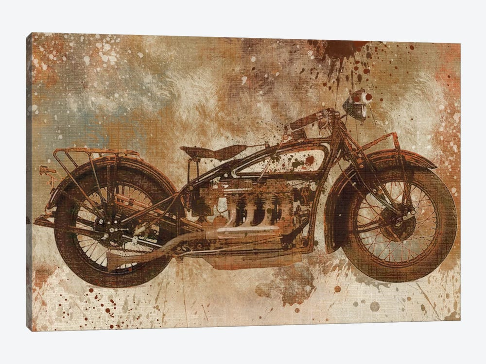 Live To Ride V by Carol Robinson 1-piece Art Print