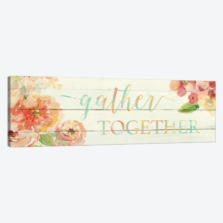 Gather Together Canvas Print #CRO257} by Carol Robinson Canvas Print