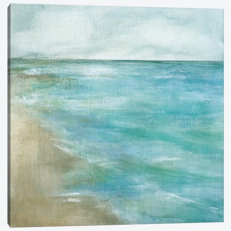 Gentle Tides Canvas Print #CRO258} by Carol Robinson Canvas Wall Art