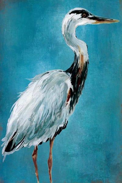Great Blue Heron I Canvas Wall Art By Carol Robinson Icanvas