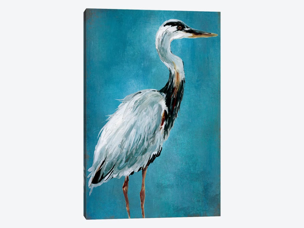 Great Blue Heron I by Carol Robinson 1-piece Canvas Artwork