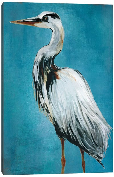 Great Blue Heron II Canvas Art Print