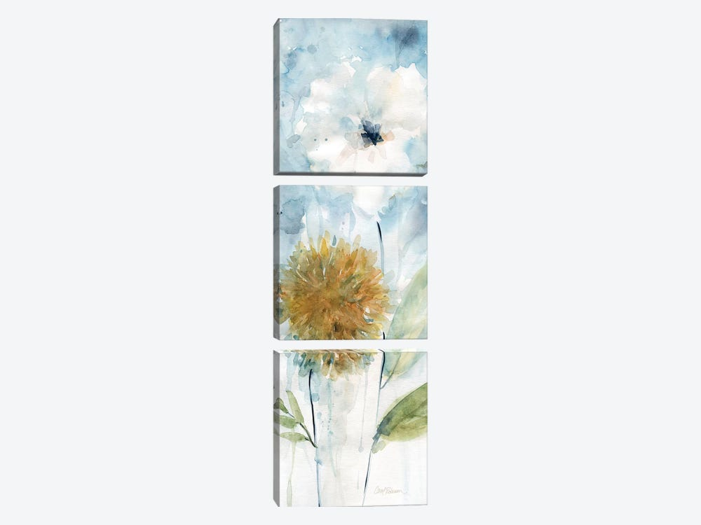 Holland Spring Blooms I by Carol Robinson 3-piece Canvas Wall Art