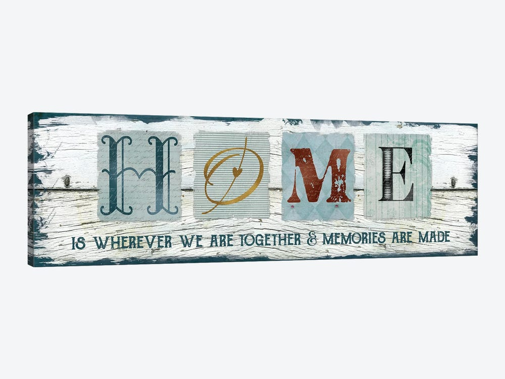 Home Wherever We Are Together by Carol Robinson 1-piece Art Print